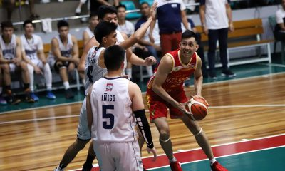 Tiebreaker Times Allyn Bulanadi lights it up as Valencia City-Baste deals Wangs 32-point beating Basketball News PBA D-League SSC-R  Wangs Basketball Couriers Ronan Santos RK Ilagan Radge Tongco Pablo Lucas Ken Villapando JM Calma Egay Macaraya City of Valencia Bukidnon-San Sebastian Golden Harvest Allyn Bulanadi 2019 PBA D-League Season