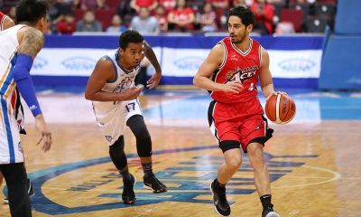 Tiebreaker Times Chris Banchero assures he's all set to play vs Phoenix after hurting hand Basketball News PBA  PBA Season 44 Chris Banchero Alaska Aces 2019 PBA Philippine Cup