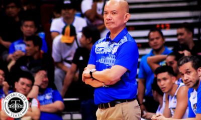 Tiebreaker Times Yeng Guiao left disappointed as NLEX loses 'most important game' Basketball News PBA  Yeng Guiao PBA Season 44 NLEX Road Warriors 2019 PBA Philippine Cup