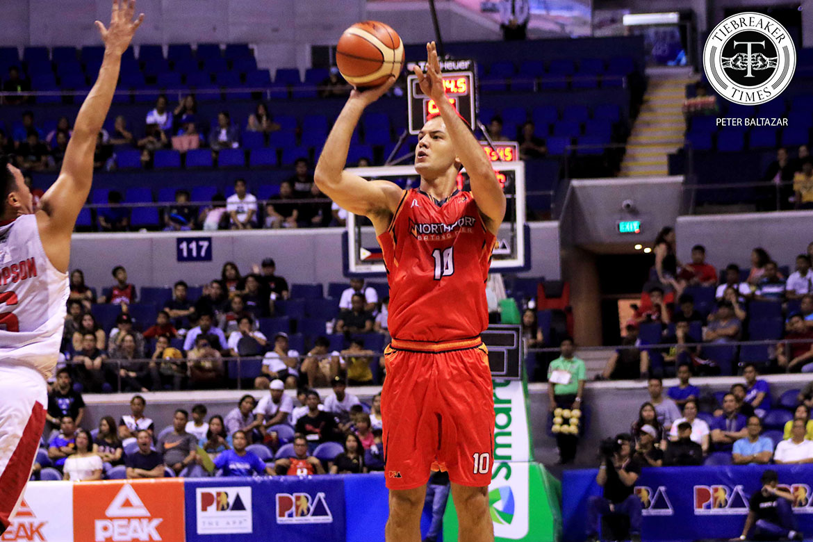 Tiebreaker Times Sean Anthony looking to prevent NorthPort's '2-0 curse' Basketball News PBA  Sean Anthony PBA Season 44 Northport Batang Pier 2019 PBA Philippine Cup