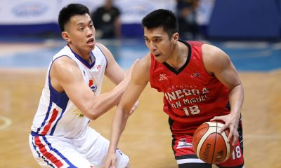 Tiebreaker Times Art Dela Cruz makes presence known as Ginebra handles Magnolia to take Game 1 Basketball News PBA  Tim Cone Scottie Thompson Rodney Brondial PBA Season 44 Paul Lee Magnolia Hotshots Japeth Aguilar Ian Sangalang Greg Slaughter Chito Victolero Barangay Ginebra San Miguel Art dela Cruz 2019 PBA Philippine Cup