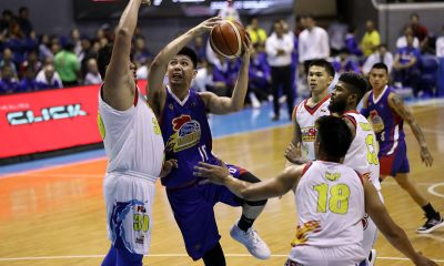 Tiebreaker Times Nothing personal between Beau Belga, Ian Sangalang despite run-in Basketball News PBA  Rain or Shine Elasto Painters PBA Season 44 Magnolia Hotshots Ian Sangalang Beau Belga 2019 PBA Philippine Cup