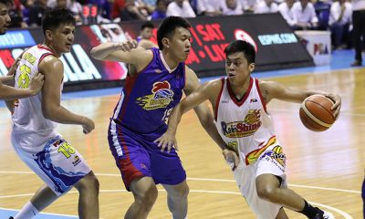 Tiebreaker Times Ahanmisi's injury fueled Rey Nambatac to step up in Rain or Shine's semis opener Basketball News PBA  Rey Nambatac Rain or Shine Elasto Painters PBA Season 44 Maverick Ahanmisi 2019 PBA Philippine Cup