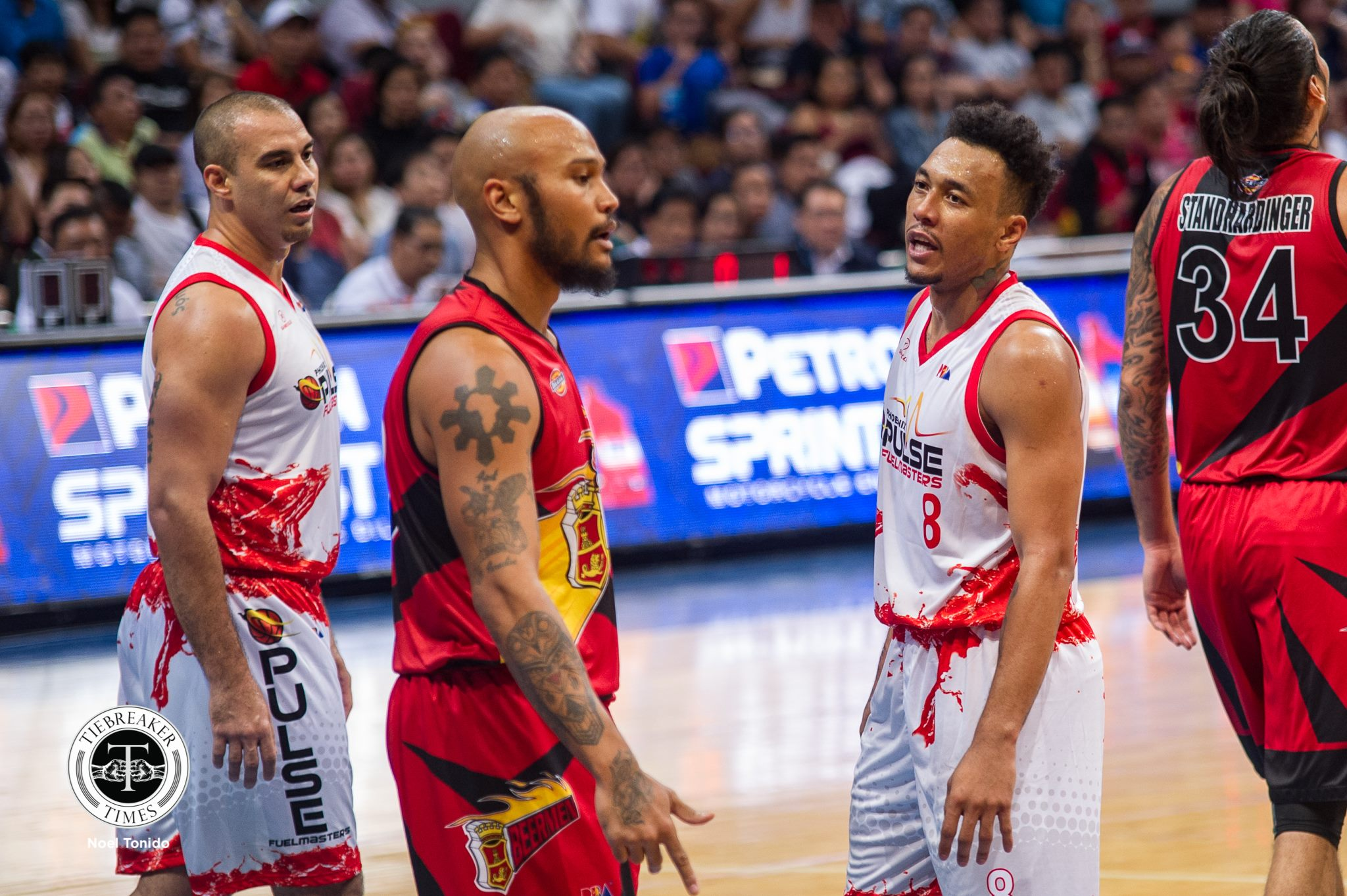 Tiebreaker Times Abueva seeks clearance from GAB: 'Kailangan bigyan ng linaw kasi vina-violate yung right niya' Basketball News PBA  Phoenix Fuel Masters PBA Season 44 Louie Alas Games and Amusement Board Calvin Abueva 2019 PBA Commissioners Cup