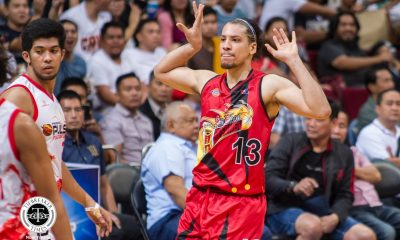 Tiebreaker Times Relief on Marcio Lassiter's face as he snaps out of funk Basketball News PBA  San Miguel Beermen PBA Season 44 Marcio Lassiter 2019 PBA Commissioners Cup