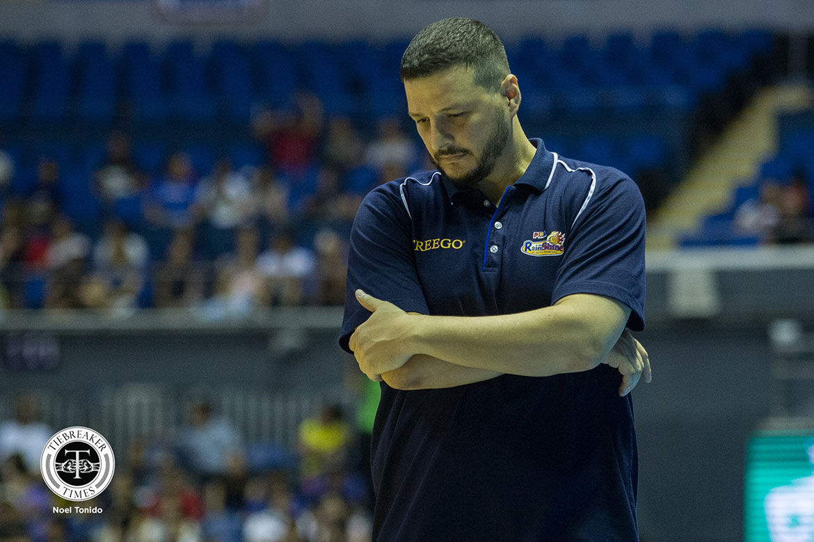 Tiebreaker Times Caloy Garcia not sweating Game 3 loss: 'We're still up' Basketball News PBA  Rain or Shine Elasto Painters PBA Season 44 Caloy Garcia 2019 PBA Commissioners Cup