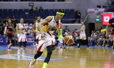 Tiebreaker Times Arwind Santos on botched dunk: 'May pumigil eh' Basketball News PBA  San Miguel Beermen PBA Season 44 Arwind Santos 2019 PBA Philippine Cup