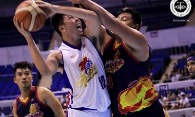 Tiebreaker Times Magnolia Hotshots survive James Yap's hijack attempt, tie series with Rain or Shine Basketball News PBA  Rain or Shine Elasto Painters PBA Season 44 Paul Lee Mark Barroca Mangolia Hotshots Justin Melton Jio Jalalon Javee Mocon James Yap Ian Sangalang Gabe Norwood Chito Victolero Caloy Garcia 2019 PBA Philippine Cup