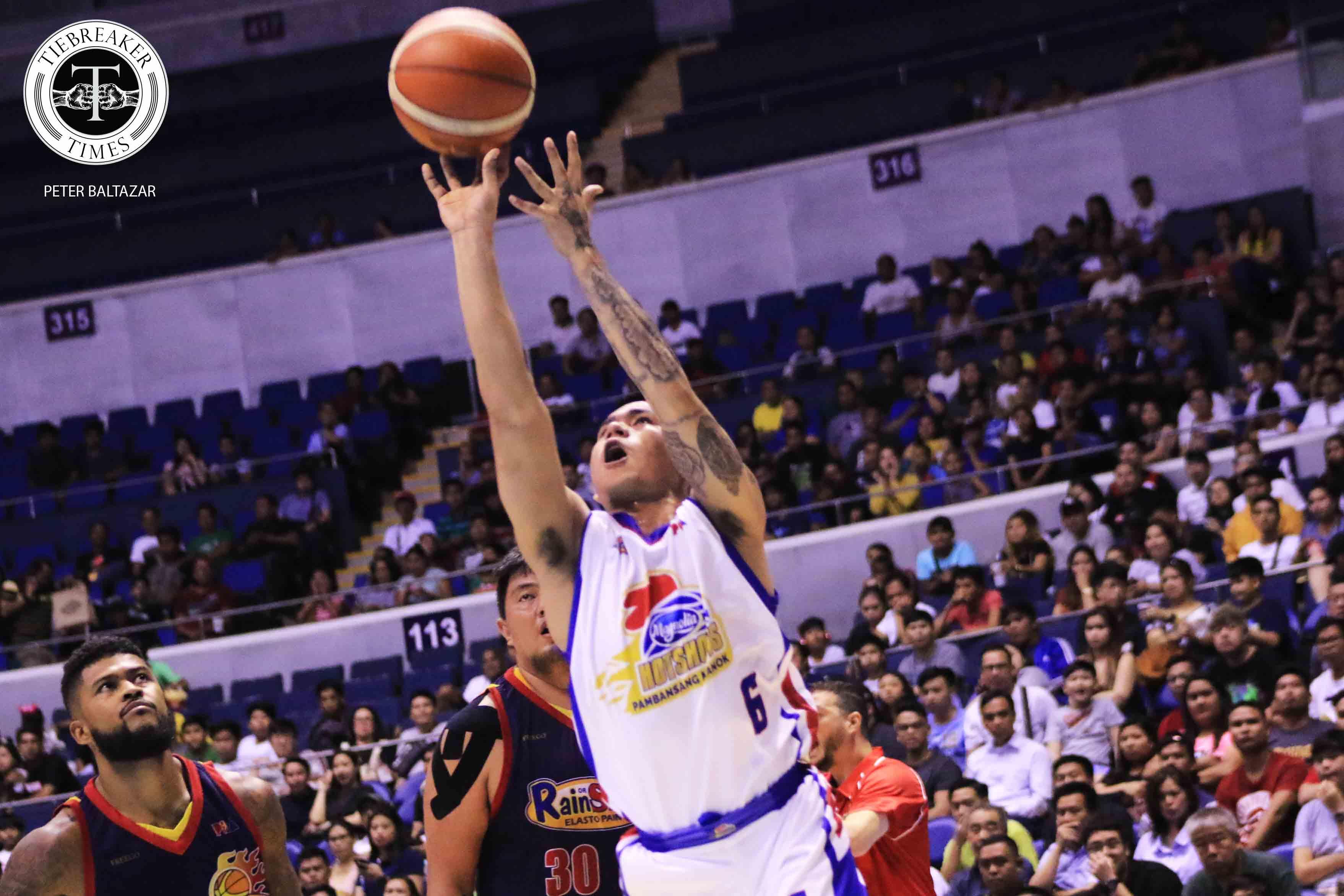 Tiebreaker Times Jio Jalalon on knocking down Game 4-saving FTs: 'Pag hindi na-shoot yun, yari ako' Basketball News PBA  PBA Season 44 Magnolia Hotshots Jio Jalalon 2019 PBA Philippine Cup