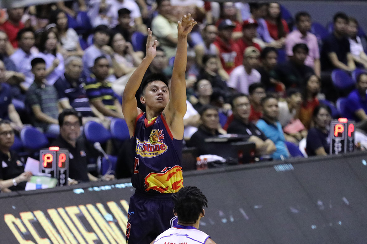 Tiebreaker Times Rey Nambatac heats up as Rain or Shine forces Game 7 Basketball News PBA  Rey Nambatac Rain or Shine Elasto Painters PBA Season 44 Paul Lee Magnolia Hotshots Jio Jalalon Jewel Ponferada James Yap Ian Sangalang Chito Victolero Caloy Garcia Beau Belga 2019 PBA Philippine Cup
