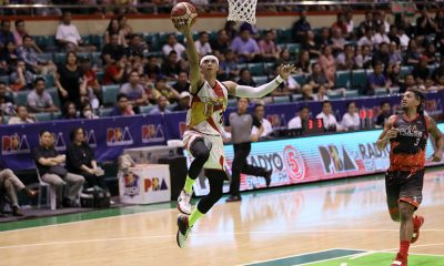 Tiebreaker Times Arwind Santos' next goal: Crack Top 5 of all-time blocks leaders Basketball News PBA  San Miguel Beermen PBA Season 44 Arwind Santos 2019 PBA Philippine Cup