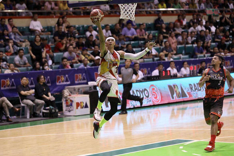 Tiebreaker Times Arwind Santos' next goal: Crack Top 5 of all-time blocks leaders Basketball News PBA  San Miguel Beermen PBA Season 44 Arwind Santos 2019 PBA Philippine Cup