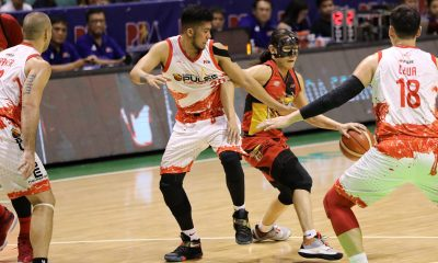 Tiebreaker Times San Miguel escapes Phoenix, books fifth straight PH Cup Finals trip Basketball News PBA  Terrence Romeo San Miguel Beermen Phoenix Fuel Masters PBA Season 44 Matthew Wright Louie Alas Leo Austria LA Revilla Justin Chua June Mar Fajardo Chris Ross Arwind Santos Alex Cabagnot 2019 PBA Philippine Cup
