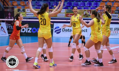 Tiebreaker Times F2 Logistics closes elims with emphatic win over Cignal HD News PSL Volleyball  Ramil De Jesus MJ Perez F2 Logistics Cargo Movers Erica Wilson Edgar Barroga Dawn Macandili Cignal HD Spikers Ara Galang Ana Artemeva Alec Cabanos 2019 PSL Season 2019 PSL Grand Prix