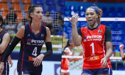 Tiebreaker Times Stephanie Niemer, Kath Bell brace for long-awaited Final appearance News PSL Volleyball  Stephanie Niemer Petron Blaze Spikers Kath Bell 2019 PSL Season 2019 PSL Grand Prix