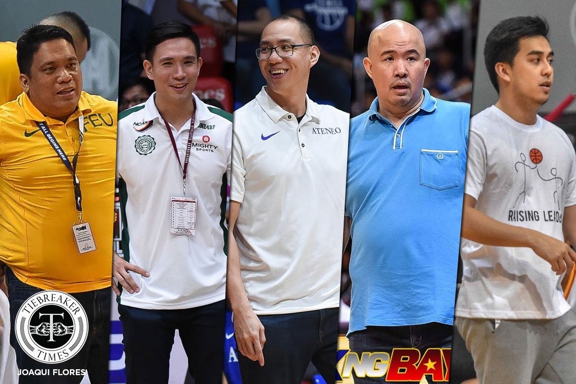 Tiebreaker Times Sandy Arespacochaga surrounds self with bright young minds in Batang Gilas Basketball Gilas Pilipinas News  Sandy Arespacochaga Ryan Betia JB Sison Goldwin Monteverde Charles Tiu Batang Gilas Anton Altamirano 2019 FIBA Under-19 World Cup 2019 FIBA Under-16 Asian Championship