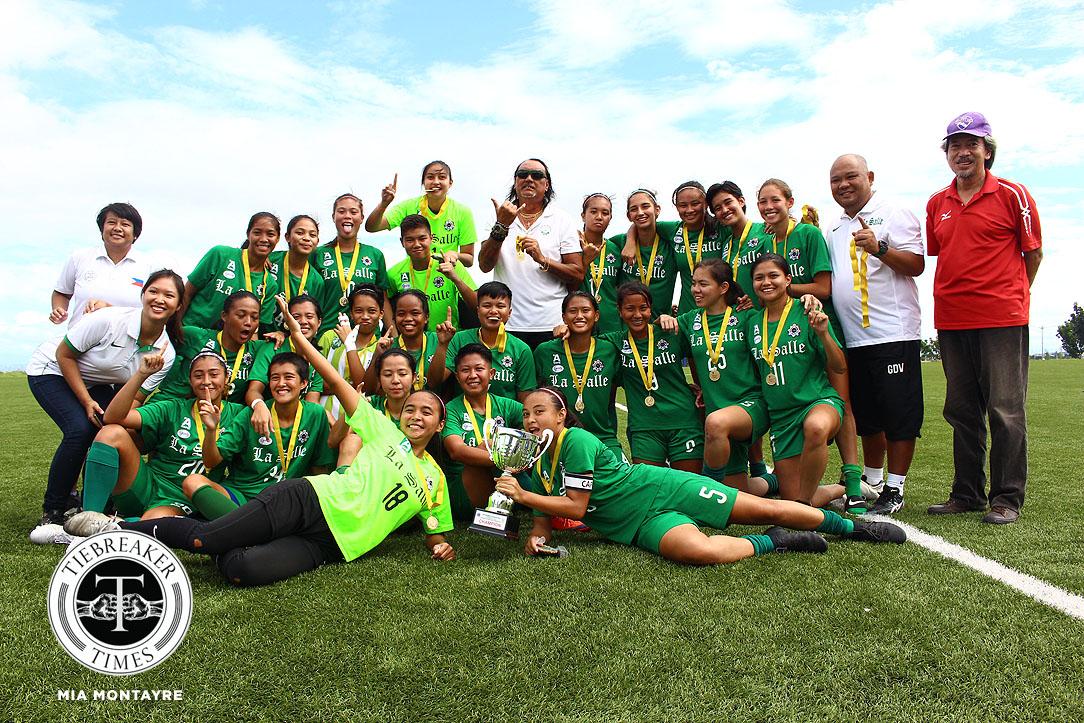 DLSU-Inna-Palacios-PFFWL-champion Inna Palacios and the epitome of Filipina resiliency Football News Philippine Malditas  - philippine sports news