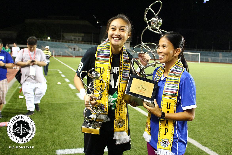 DLSU-Inna-Palacios-UAAP-champion Inna Palacios and the epitome of Filipina resiliency Football News Philippine Malditas  - philippine sports news
