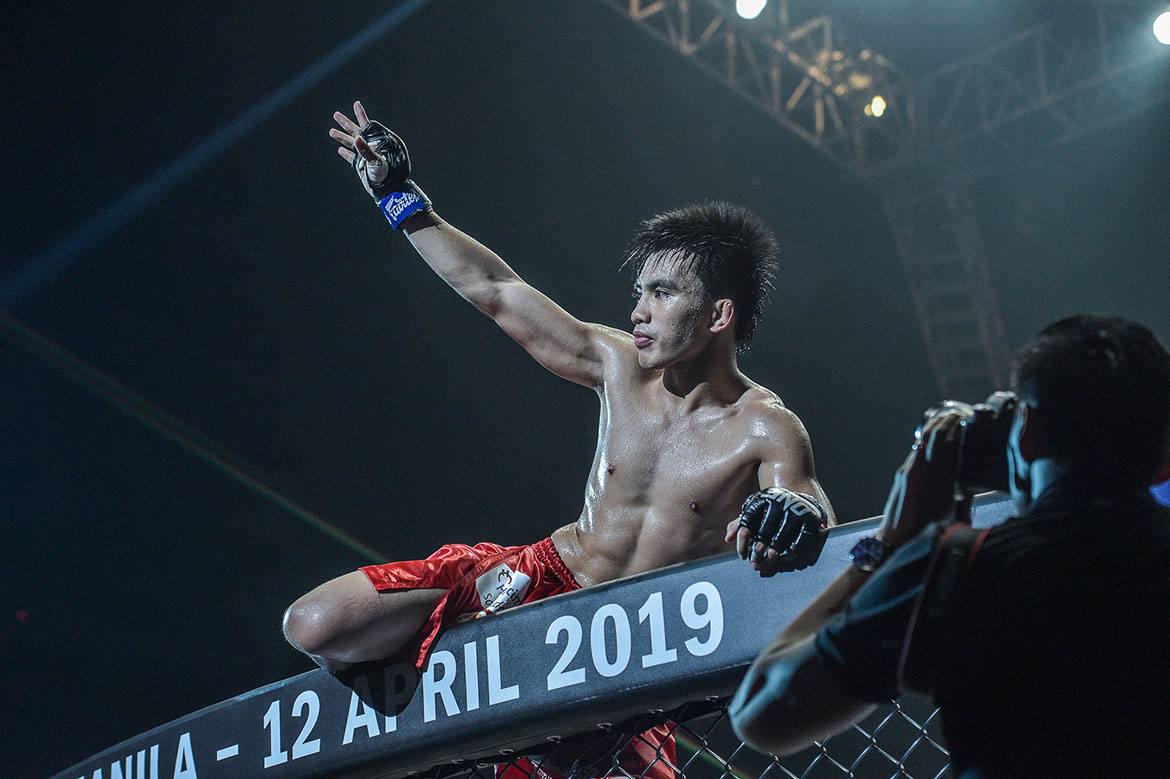 Tiebreaker Times Young Joshua Pacio starting to become one of Team Lakay's leaders, says Folayang Mixed Martial Arts News ONE Championship  Team Lakay ONE: Roots of Honor Joshua Pacio Eduard Folayang