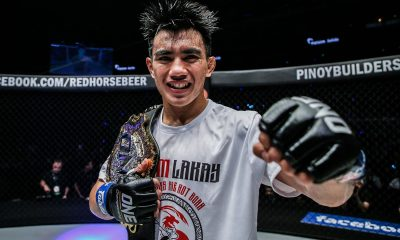 Tiebreaker Times Sangiao warns Joshua Pacio: 'Rene's hands are already proven' Mixed Martial Arts News ONE Championship  Team Lakay Rene Catalan ONE: Masters of Fate Mark Sangiao Joshua Pacio