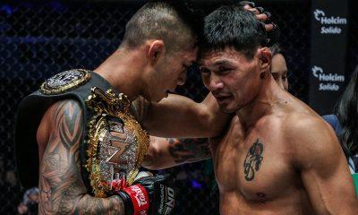 Tiebreaker Times Martin Nguyen shows greater power than Jadambaa to retain ONE crown Mixed Martial Arts News ONE Championship  ONE: Roots of Honor Narantungalag Jadambaa Martin Nguyen