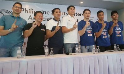 Tiebreaker Times From Hunter to Hunted: San Juan Knights ready to go for another gold Basketball MPBL News  Rian Ayonayon Randy Alcantara John Wilson jeremy go Go for Gold-San Juan Knights Chris Conwi 2019 MPBL Datu Cup