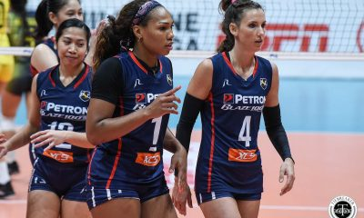 Tiebreaker Times Kath Bell on three-peat bid with new-look Petron: 'We're ready to go' News PSL Volleyball  Petron Blaze Spikers Kath Bell 2020 PSL Season 2020 PSL Grand Prix