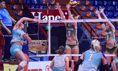 Tiebreaker Times UVC survives Sta. Lucia, enters playoffs as 5th seed News PSL Volleyball  Yaasmeen Bedart-Ghani United VC Sta. Lucia Lady Realtors Pam Lastimosa Kalei Mau Joshua Ylaya Casey Schoenlein Bang Pineda Babes Castillo Alohi Robins-Hardy 2019 PSL Season 2019 PSL Grand Prix