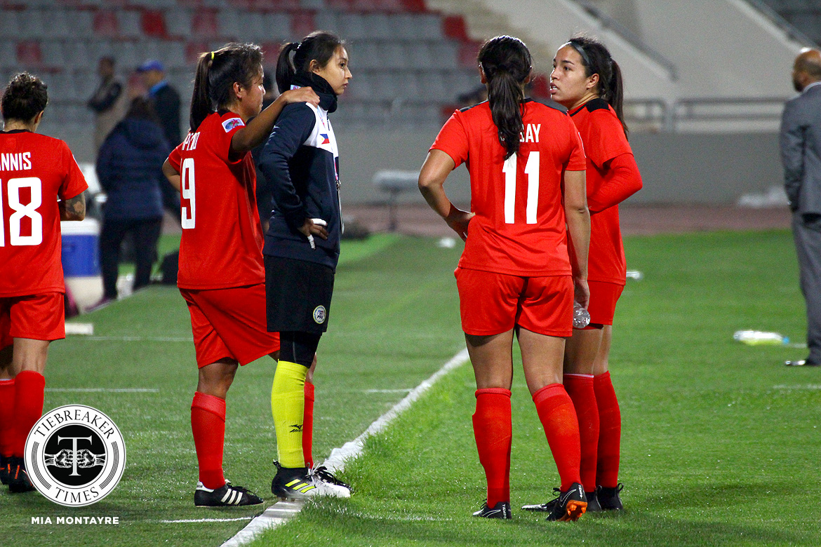 PWFNT-Impelido-Palacios-after-losing-vs-Thailand-and-failing-to-qualify-for-Womens-World-Cup Inna Palacios and the epitome of Filipina resiliency Football News Philippine Malditas  - philippine sports news