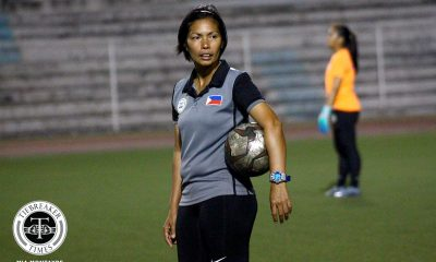 Tiebreaker Times Let Dimzon hails PWNFT growth as focus shifts to ASEAN tourneys Football News Philippine Malditas  Philippine Women's National Football Team Let Dimzon 2020 AFC Women's Olympic Qualifying Tournament
