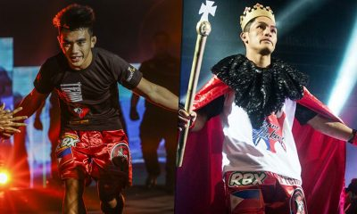 Tiebreaker Times Good pals Joshua Pacio, Danny Kingad almost quarreled over entrance music Mixed Martial Arts News ONE Championship  Team Lakay Joshua Pacio Danny Kingad