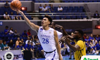 Tiebreaker Times Troy Mallillin practicing again with Ateneo after acads mishap: 'Natuto na 'ko' ADMU News PBA D-League  Troy Mallillin Ateneo-Cignal Blue Eagles 2019 PBA D-League Season