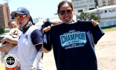 Tiebreaker Times What is Ana Santiago's greatest achievement? AdU News Softball  Ana Santiago Adamson Softball
