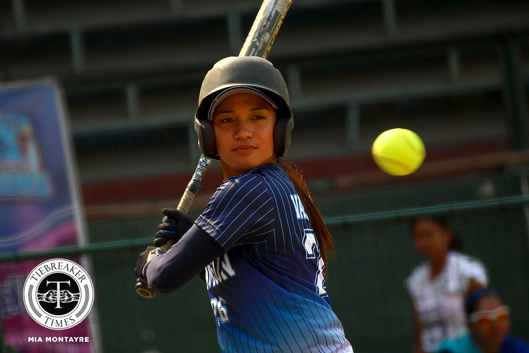 Tiebreaker Times Ex-NU 3B Arianne Vallestero, a 'blessing' to Adamson Lady Falcons AdU News Softball UAAP  UAAP Season 81 Softball UAAP Season 81 Arianne Vallestero Ana Santiago Adamson Softball