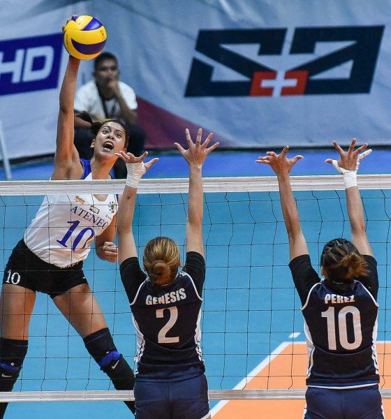 Tiebreaker Times Ateneo Lady Eagles dash hapless Adamson for 11th win ADMU AdU News UAAP Volleyball  UAAP Season 81 Women's Volleyball UAAP Season 81 Ateneo Women's Volleyball Adamson Women's Volleyball