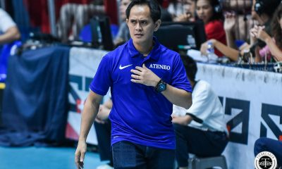 Tiebreaker Times Ateneo Lady Eagles raring to begin 'real UAAP' season ADMU News UAAP Volleyball  UAAP Season 81 Women's Volleyball UAAP Season 81 Oliver Almadro Maddie Madayag Kat Tolentino Ateneo Women's Volleyball