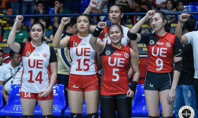 Tiebreaker Times UE seniors hope to have permanently changed team's culture News UAAP UE Volleyball  UE Women's Volleyball UAAP Season 81 Women's Volleyball UAAP Season 81 Roselle Baliton Lai Bendong Kath Arado Judith Abil
