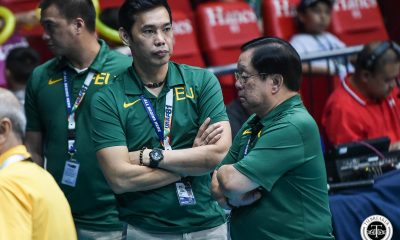 Tiebreaker Times FEU Lady Tamaraws played for pride against La Salle, says George Pascua FEU News UAAP Volleyball  UAAP Season 81 Women's Volleyball UAAP Season 81 George Pascua FEU Women's Volleyball