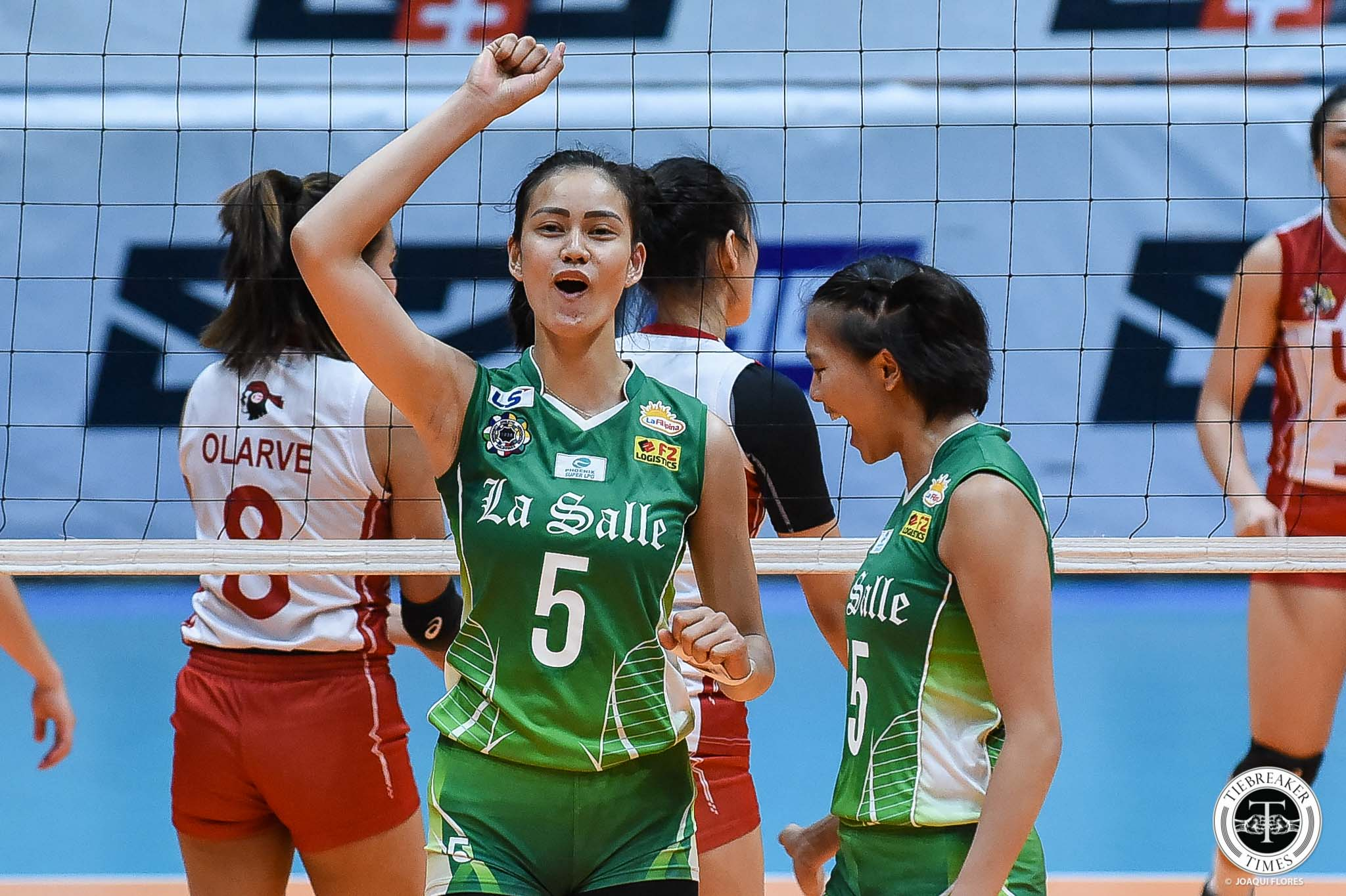 Tiebreaker Times With seeding still uncertain, La Salle Lady Spikers look to overwhelm FEU in final match DLSU News UAAP Volleyball  UAAP Season 81 Women's Volleyball UAAP Season 81 Ramil De Jesus DLSU Women's Volleyball