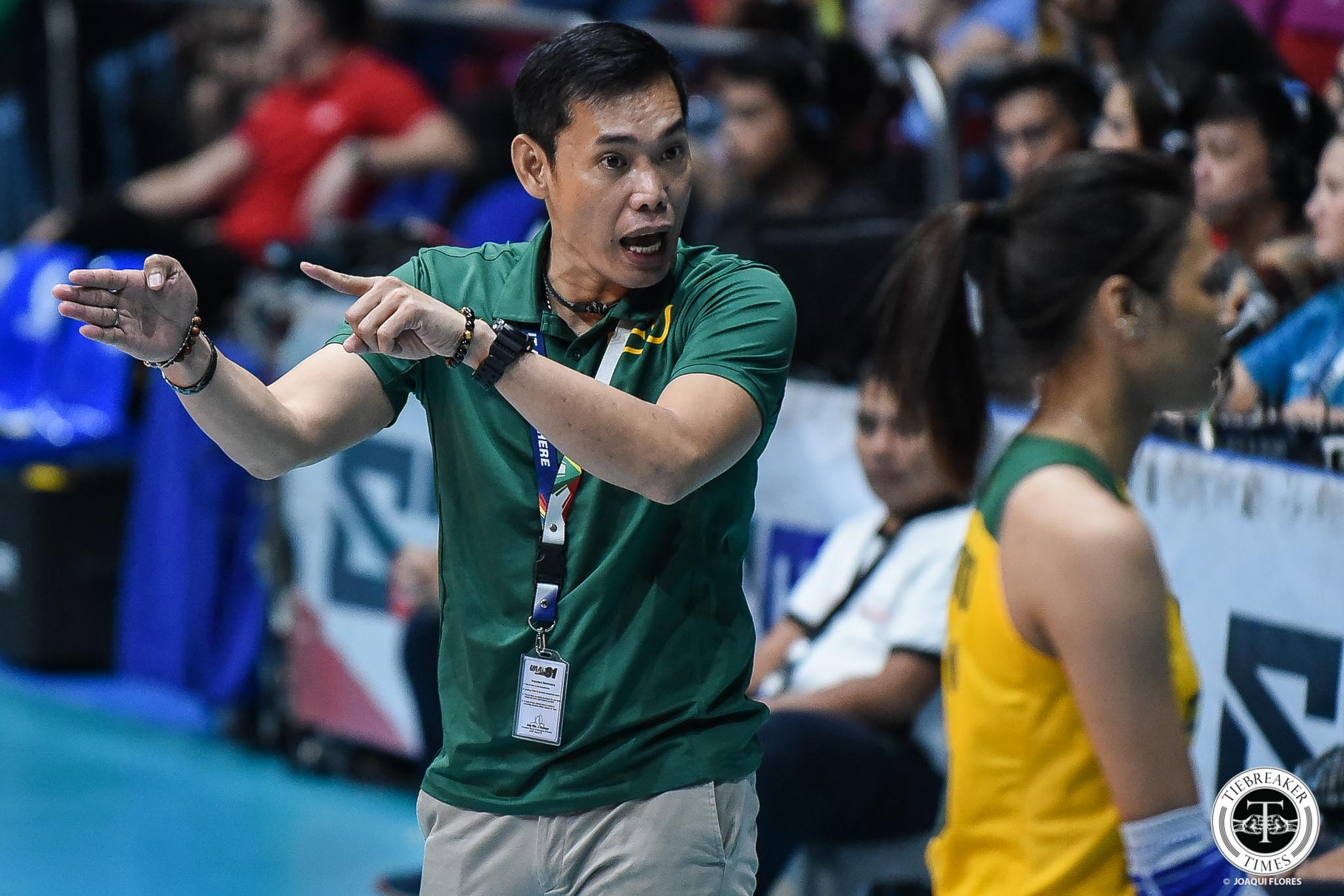 Tiebreaker Times FEU Lady Tamaraws hold players-only meeting after Ateneo loss FEU News UAAP Volleyball  UAAP Season 81 Women's Volleyball UAAP Season 81 Jerrili Malabanan FEU Women's Volleyball