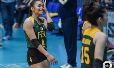 Tiebreaker Times Sense of urgency finally kicking in for Heather Guino-O, Jerrili Malabanan FEU News UAAP Volleyball  UAAP Season 81 Women's Volleyball UAAP Season 81 Jerrili Malabanan Heather Guino-o George Pascua FEU Women's Volleyball