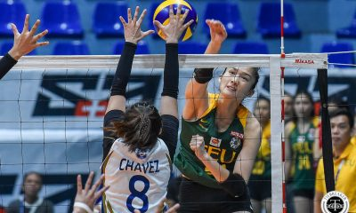 Tiebreaker Times FEU Lady Tamaraws one win away from playoff berth, nips NU FEU News NU UAAP Volleyball  UAAP Season 81 Women's Volleyball UAAP Season 81 NU Women's Volleyball Norman Miguel Kyle Negrito Jerrili Malabanan Ivy Lacsina Heather Guino-o George Pascua FEU Women's Volleyball Buding Duremdes Audret Paran