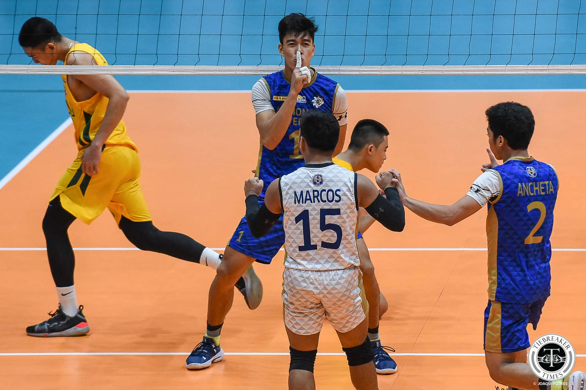 Tiebreaker Times NU Bulldogs topple FEU for Final Four top billing FEU News NU UAAP Volleyball  UAAP Season 81 Men's Volleyball UAAP Season 81 RJ Paler Ricky Marcos Rey Diaz NU Men's Volleyball Nico Almendras Jude Garcia Joshua Retamar FEU Men's Volleyball Dante Alinsunurin Bryan Bagunas