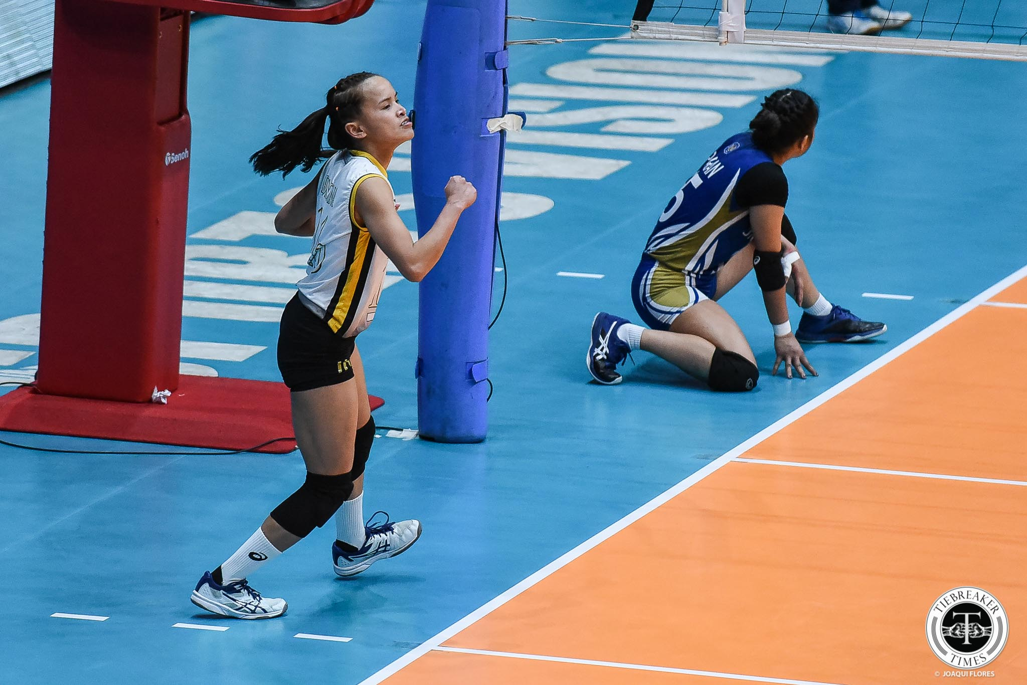Tiebreaker Times Rondina, UST Tigresses roll into Final Four with emphatic win over NU News NU UAAP UST Volleyball  UST Women's Volleyball UAAP Season 81 Women's Volleyball UAAP Season 81 Sisi Rondina Rica Rivera Princess Robles NU Women's Volleyball Norman Miguel Kungfu Reyes Ivy Lacsina Eya Laure Alina Bicar