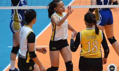 Tiebreaker Times Gifted with best chance to make Finals, Sisi Rondina more determined News UAAP UST Volleyball  UST Women's Volleyball UAAP Season 81 Women's Volleyball UAAP Season 81 Cherry Rondina