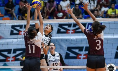 Tiebreaker Times Joy Dacoron, Adamson Lady Falcons deal Estrañero, UP one last upset to end campaign AdU News UAAP UP Volleyball  UP Women's Volleyball UAAP Season 81 Women's Volleyball UAAP Season 81 Tots Carlos Thang Ponce Onyok Getigan MJ Igao Joy Dacoron Isa Molde Godfrey Okumu Chiara Permentilla Adamson Women's Volleyball
