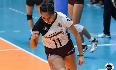 Tiebreaker Times Marian Buitre still learning off-the-bench role in final year News UAAP UP Volleyball  UP Women's Volleyball UAAP Season 81 Women's Volleyball UAAP Season 81 Marian Buitre