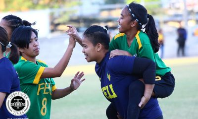 Tiebreaker Times Elna Bongol finds net as FEU survives UST in pivotal clash FEU Football News UAAP UST  UST Women's Football UAAP Season 81 Women's Football UAAP Season 81 Let Dimzon Kim Parina FEU Women's Football Elna Bongol Cecile Deita Bhebe Lemoran Aging Rubio