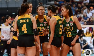 Tiebreaker Times Domingo, Basas, Hernandez forego UAAP Season 82, still enrolled in FEU FEU News UAAP Volleyball  UAAP Season 82 Women's Volleyball UAAP Season 82 Toni Rose Basas Shiela Kiseo sheena gallentes Lycha Ebon George Pascua Gel Cayuna FEU Women's Volleyball Elize Ronquillo Celine Domingo Carly Hernandez