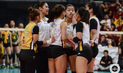 Tiebreaker Times Eya Laure's promise prophetically fulfilled exactly one year later News UAAP UST Volleyball  UST Women's Volleyball UAAP Season 81 Women's Volleyball UAAP Season 81 Eya Laure